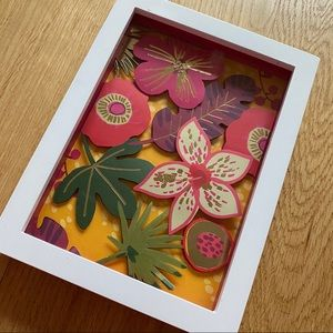 Hallmark Floral Shadow Box Pink
